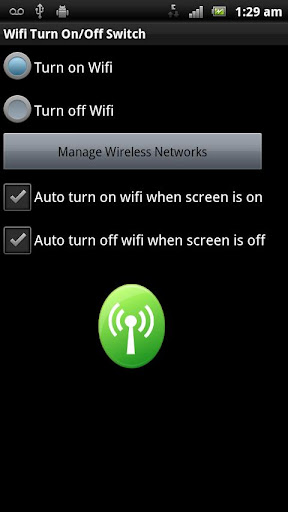 Auto Wifi On Off Switch Trial