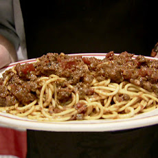 Meat Sauce and Spaghetti