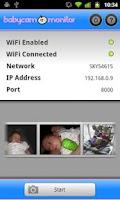 Screenshot of BabyCam Monitor DEMO