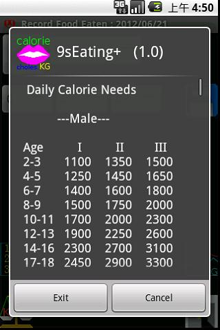 Watch Daily Calorie +
