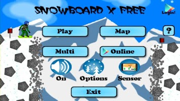 Screenshot of SnowBoard X Free