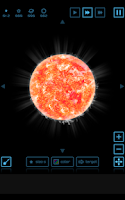 Screenshot of Planet simulation