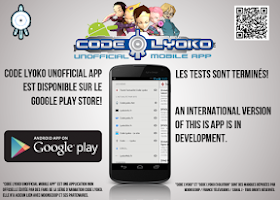 Screenshot of Code Lyoko Mobile App