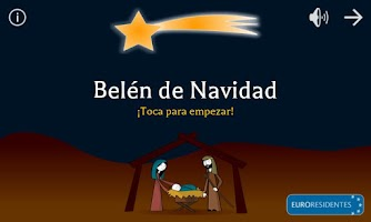 Screenshot of Christmas Nativity Scene