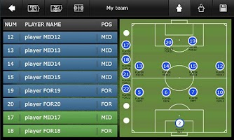 Screenshot of Mourinho Tactical Board Phone