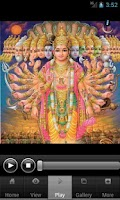 Screenshot of Vishnu Chalisa with Audio