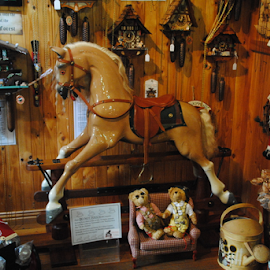 ROCKING HORSE by James Menteith - Artistic Objects Toys ( horse, toys, artistic, objects, photography )