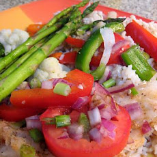 Cod and Veggies Casserole