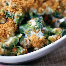 Broccoli and Blue Cheese Gratin Recipe