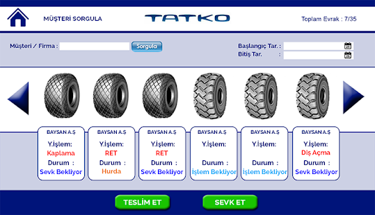 Tatkotim LTS - screenshot