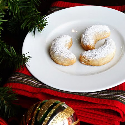 Swedish Crescent Cookies