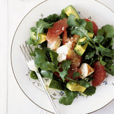 Lobster, Avocado, and Grapefruit Salad