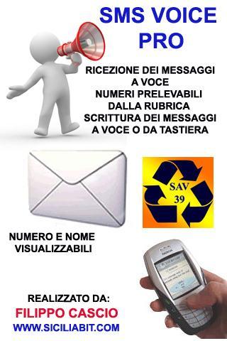 sms voice pro sms vocali free