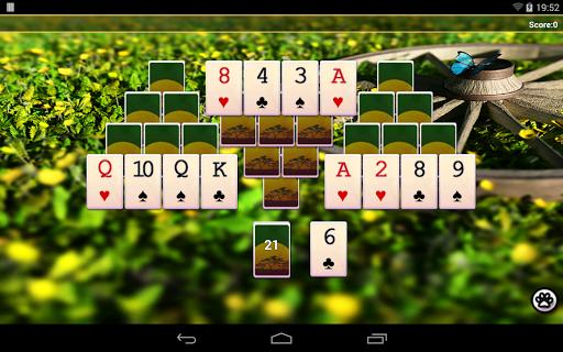 Wild Tripeaks - screenshot