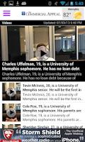 Screenshot of Memphis Commercial Appeal