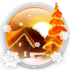 Winter Snow Cartoon LWP PRO icon