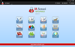 Screenshot of JA Sensei - Learn Japanese