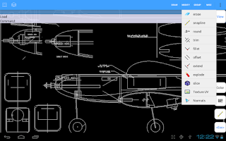 Screenshot of AutoQ3D CAD