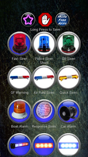siren-ringtones for android screenshot