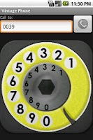 Screenshot of Vintage Phone