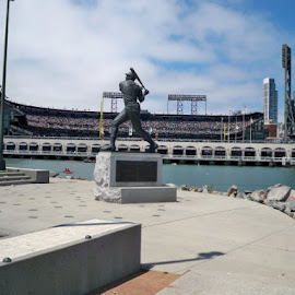 From the outside of AT&T Park by Michael Trad - Novices Only Sports