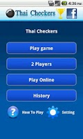 Screenshot of Thai Checkers