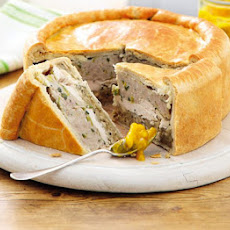 Chicken & Stuffing Picnic Pie