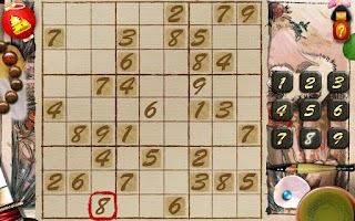 Screenshot of Sudoku Samurai HD