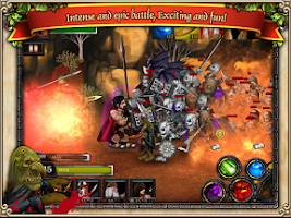 Screenshot of Spartans vs Zombies defense HD