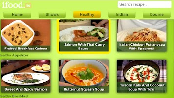 Screenshot of ifood.tv for Google TV