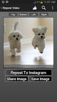 Screenshot of RepostWhiz Repost Video Photos
