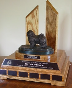 Best in Breed Specialty Trophy