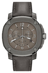 Burberry the Britain Chronograph Leather Strap Watch, 47mm