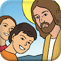 Children's Bible Passion Jesus icon