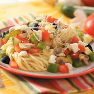 Mediterranean Vegetable Pasta
