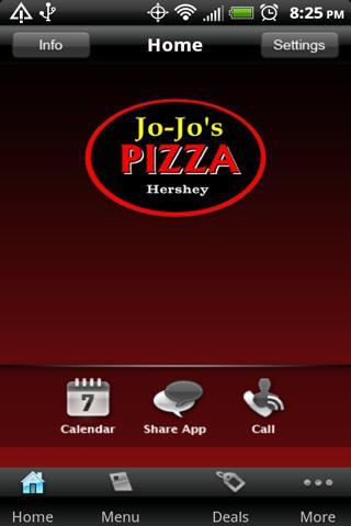 【免費商業App】Jo-Jo's Pizza Hershey-APP點子