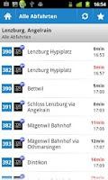 Screenshot of Regionalbus Lenzburg