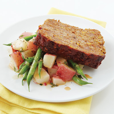 Spicy Glazed Meatloaf