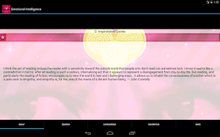 Screenshot of Emotional Intelligence Quotes