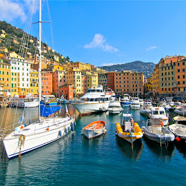 by Felice Bellini - City,  Street & Park  Historic Districts ( camogli )