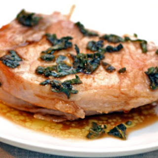 Pork Chops with Sage and Balsamic
