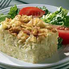 Low fat noodle Kugel