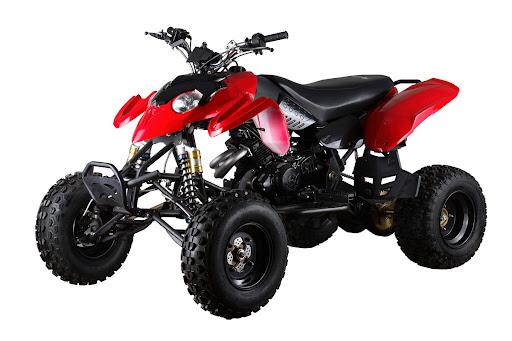 A quad bike