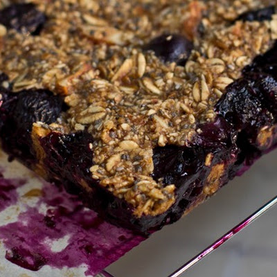 Blueberry Almond Chia Squares