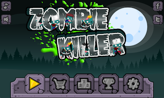 Screenshot of Zombie killer - Platform game