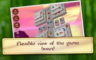 Screenshot of 3D Mahjong Mountain