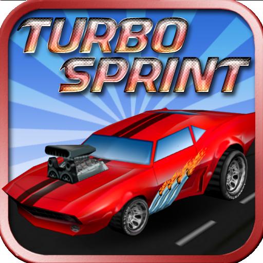 Turbo Sprint 賽車遊戲 App LOGO-APP試玩