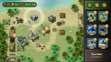 Screenshot of Jungle Defense Demo