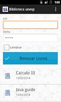 Screenshot of Biblioteca Unesp