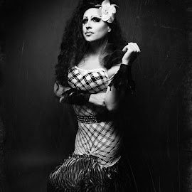 Deception by Angela Wilkens - People Fashion ( fashion, vintage, queen, gay, drag )